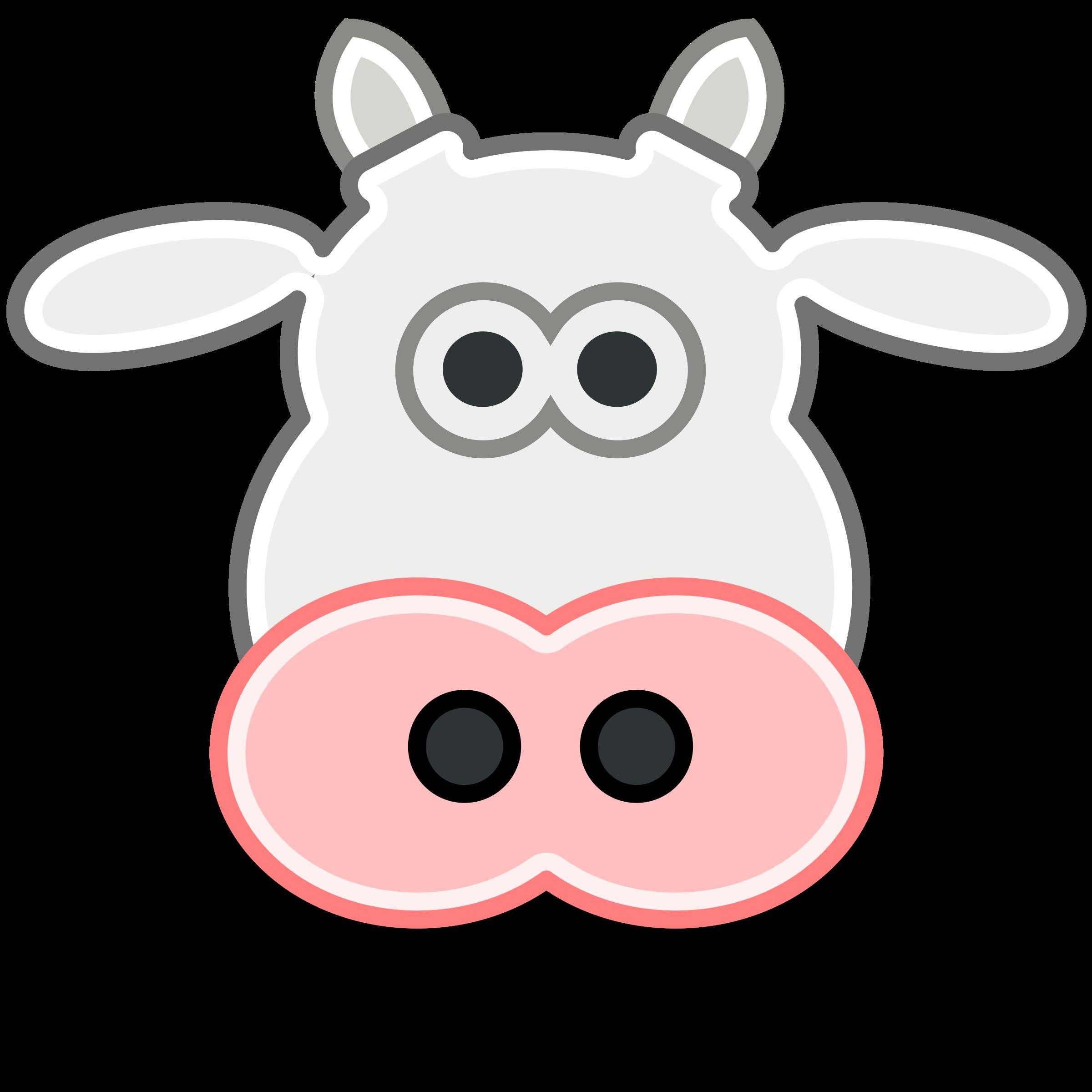 Tango style head big. Cow clipart vet