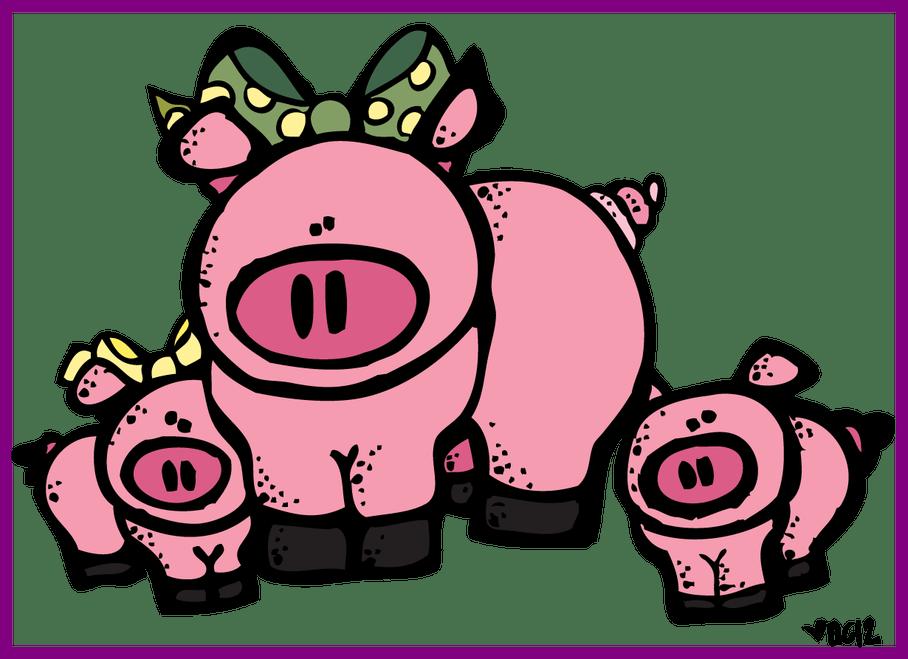 Melonheadz clipart money. Appealing cow of piggy