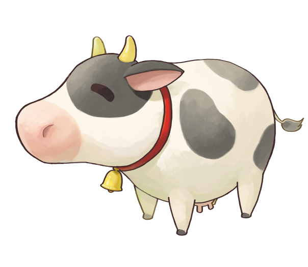 Sv the harvest moon. Clipart cow product