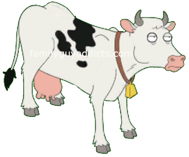 Nature week character profile. Clipart man cow