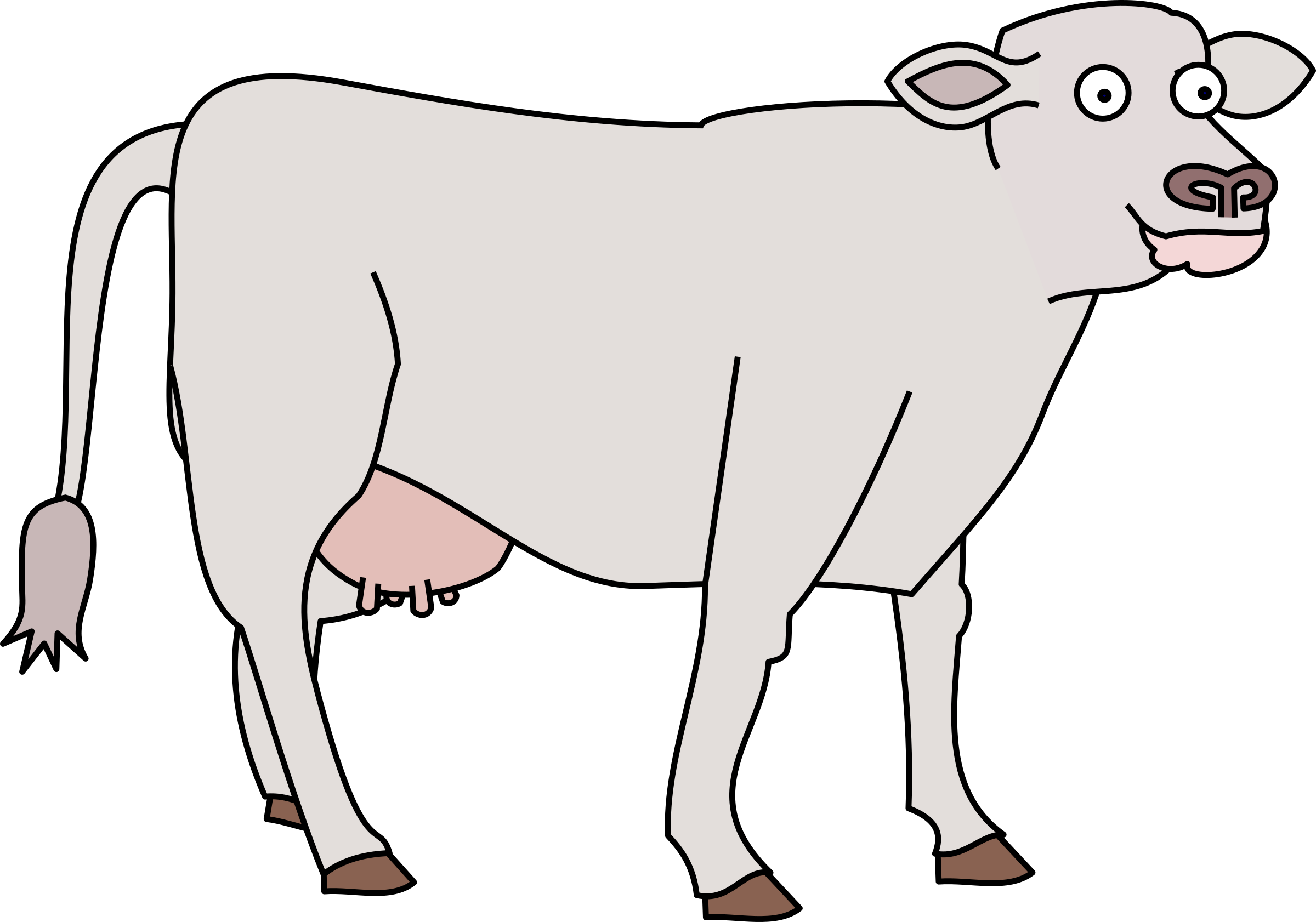 Holly cow big image. Working clipart future