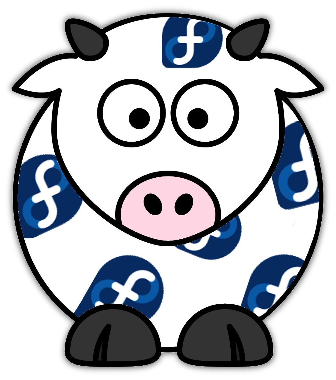 Clipart cow shadow. Spherical