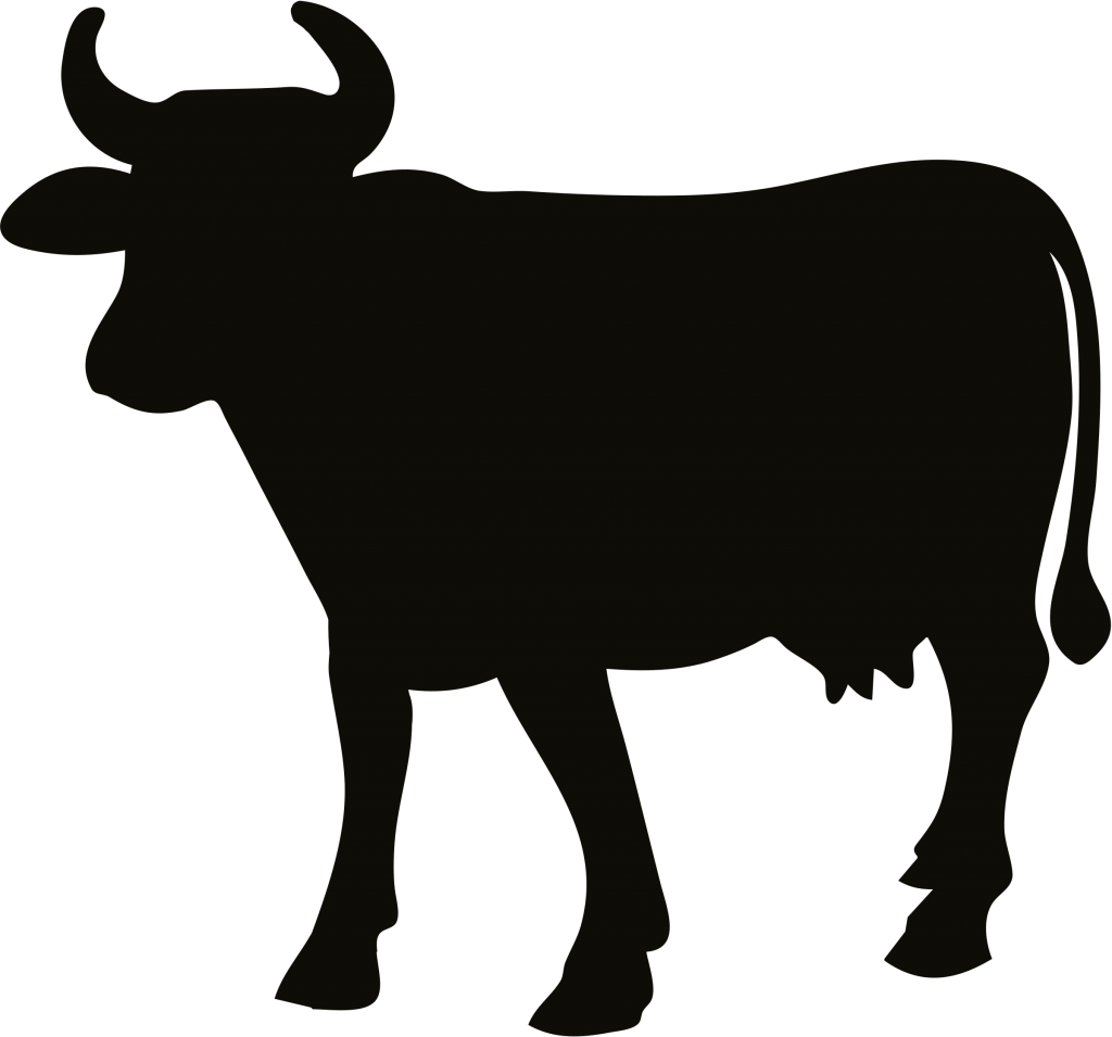 Animal free png transparent. Clipart cow shadow