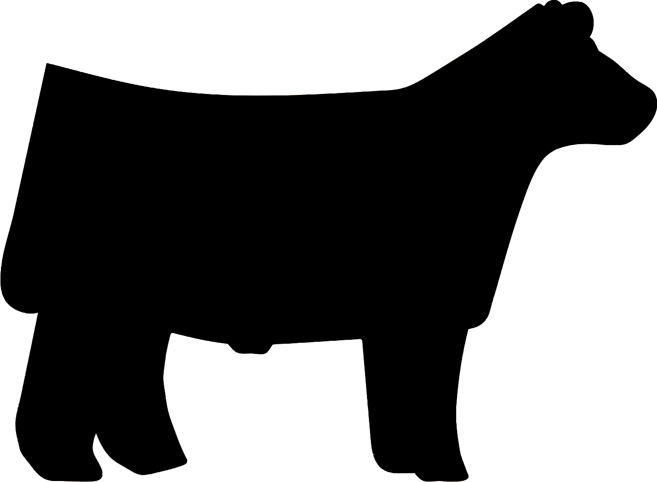 Silhouette at getdrawings com. Longhorn clipart cattle drive
