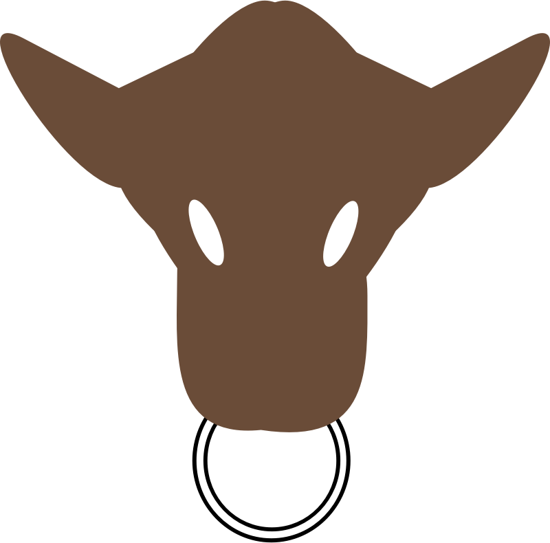 Download cow clip art. Ox clipart ox face