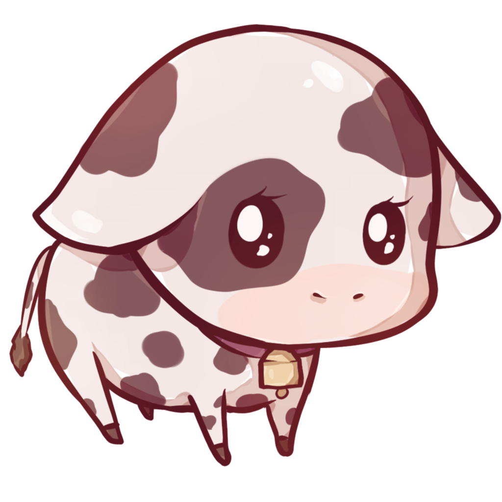 Cute drawing at getdrawings. Clipart cow simple