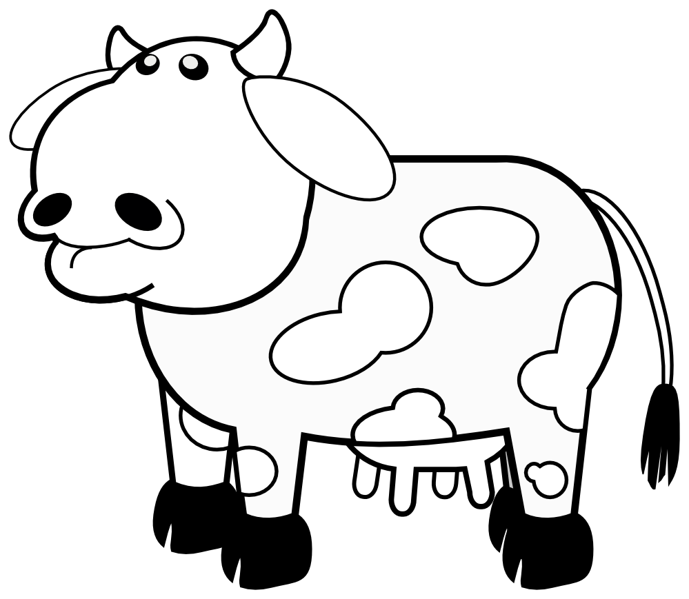 Clipart rainbow cow. Clipartist net search results