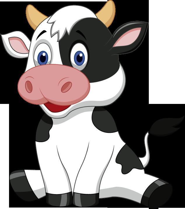 Clipart cow sketch. Animais da fazenda obr