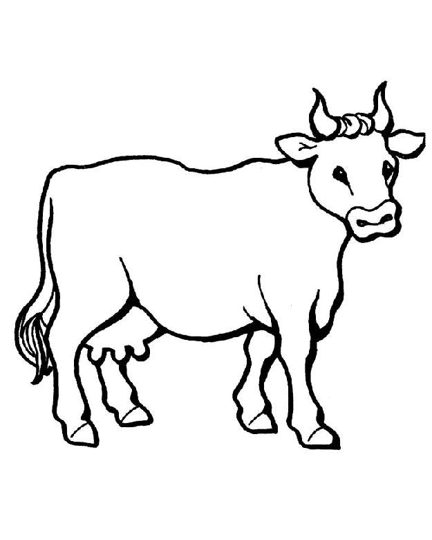 Free drawing download clip. Clipart cow sketch