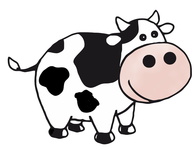 collection of derpy. Clipart cow sketch