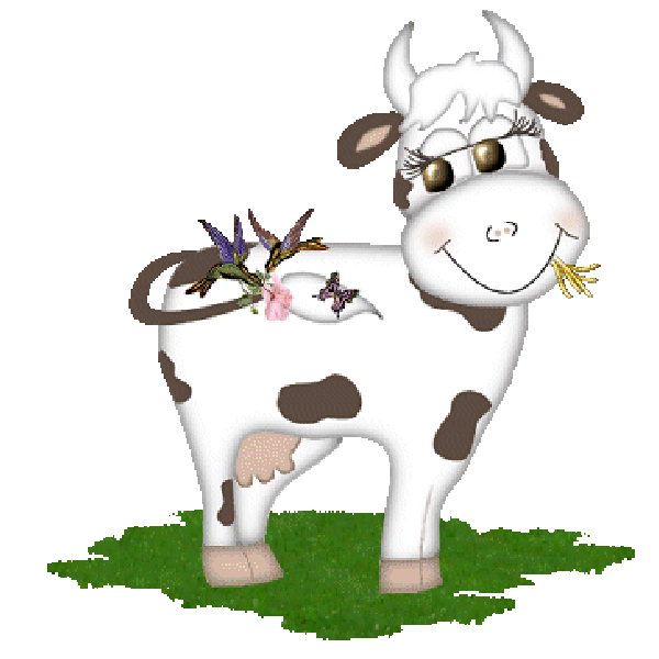 Clipart cow transparent background. Funny farmyard cows clip