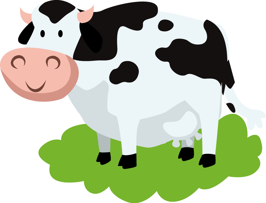 Dairy cattle song nursery. Cows clipart vaca