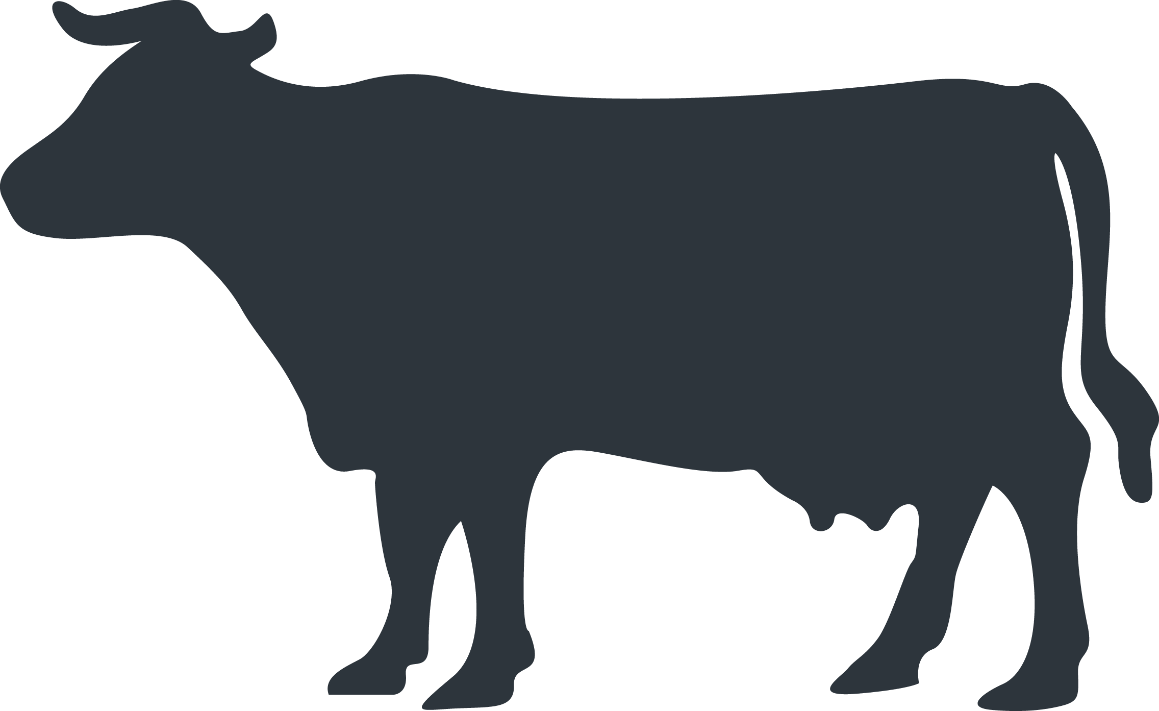 Cows clipart waste. Climate change awareness