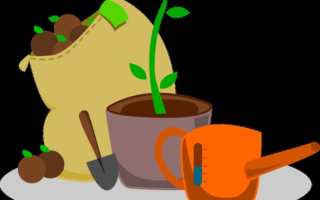 Garden clipart kitchen garden. Five easy steps to