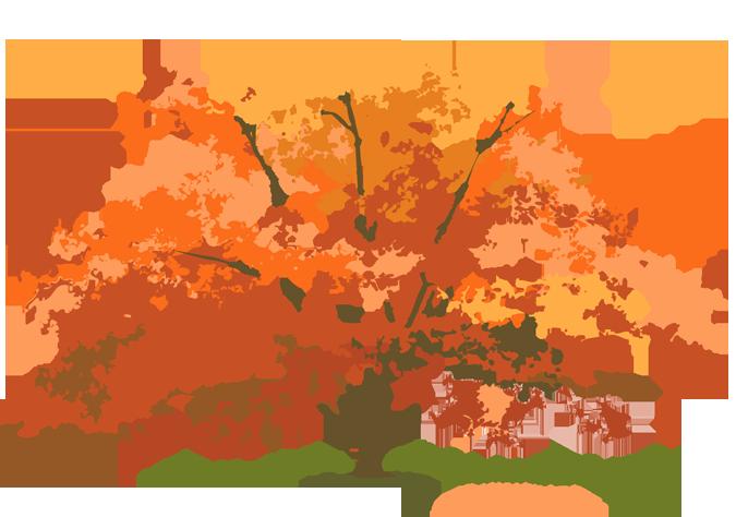 Beautiful free clip art. Dog clipart autumn