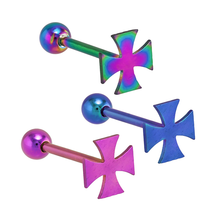 Clipart cross barbell. Freshtrends iron straight anodized