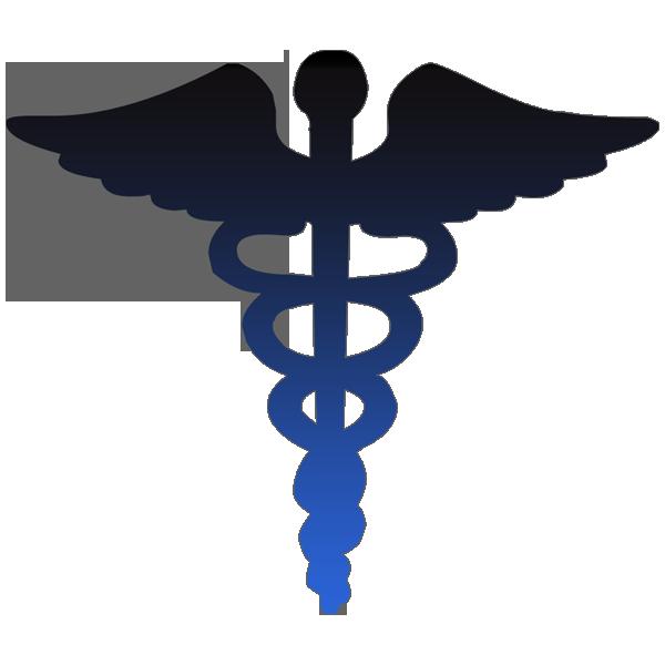 Cross clipart blue. Caduceus medical symbol image