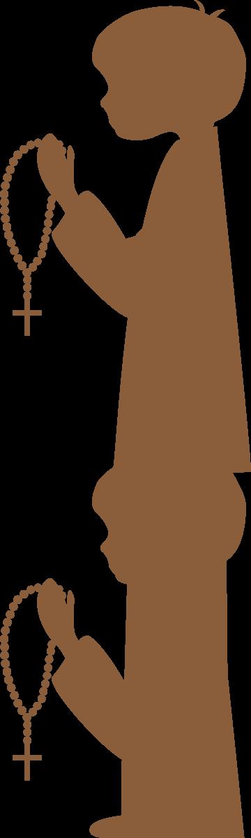 Communion clipart cross design. De siluetas primera comuni