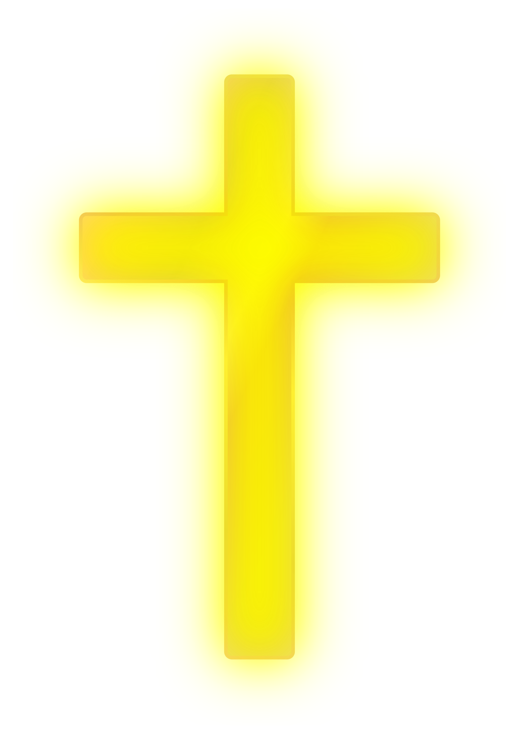 Golden cross big image. Heaven clipart gold