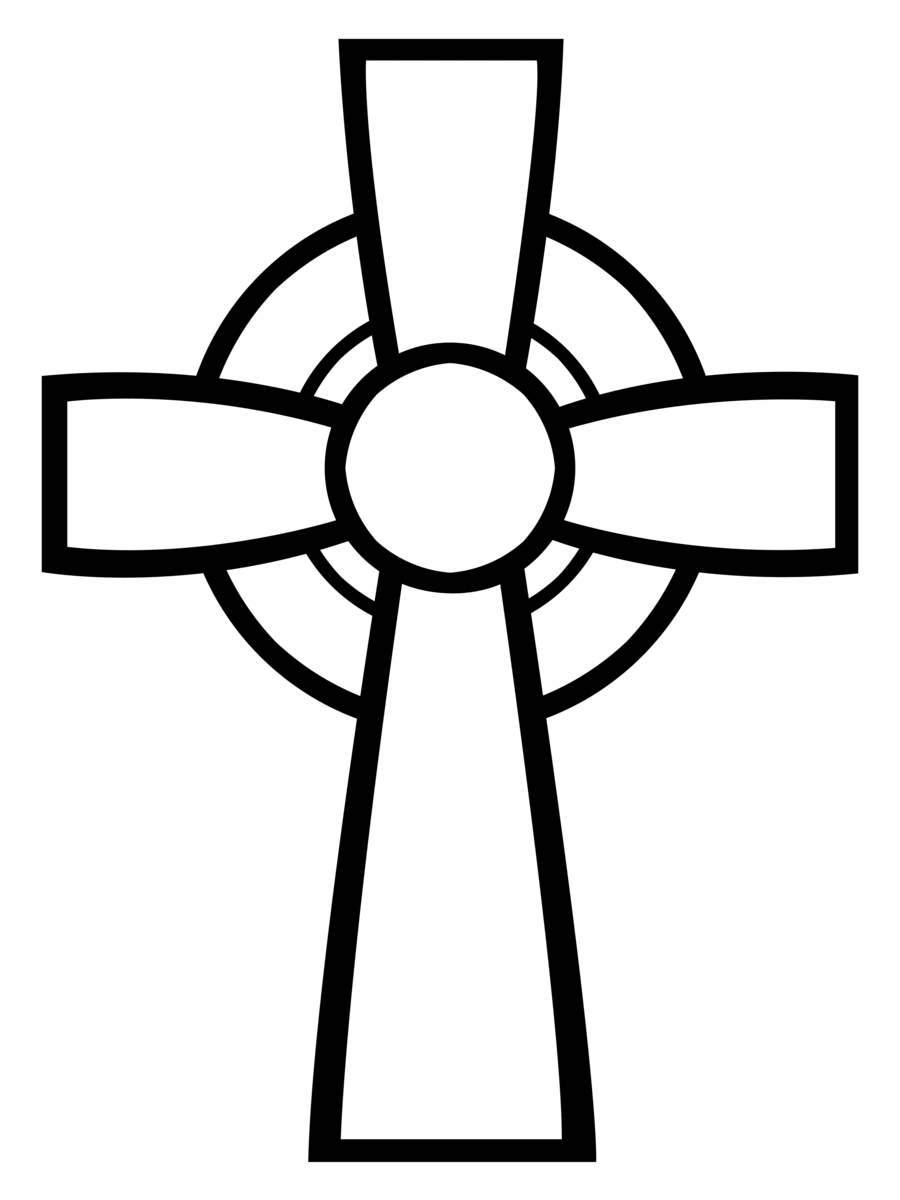 Confirmation clipart crucifix. Celtic cross custom shape