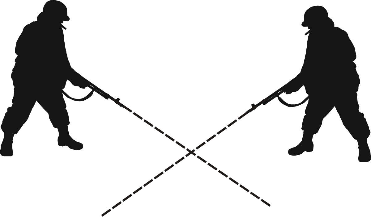 Gun clipart crossed. Crossfire wikipedia