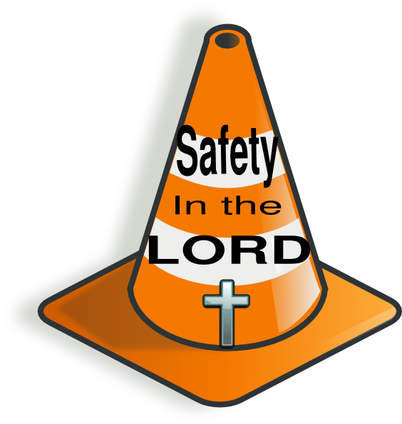 Cross clip art at. Cone clipart safety cone