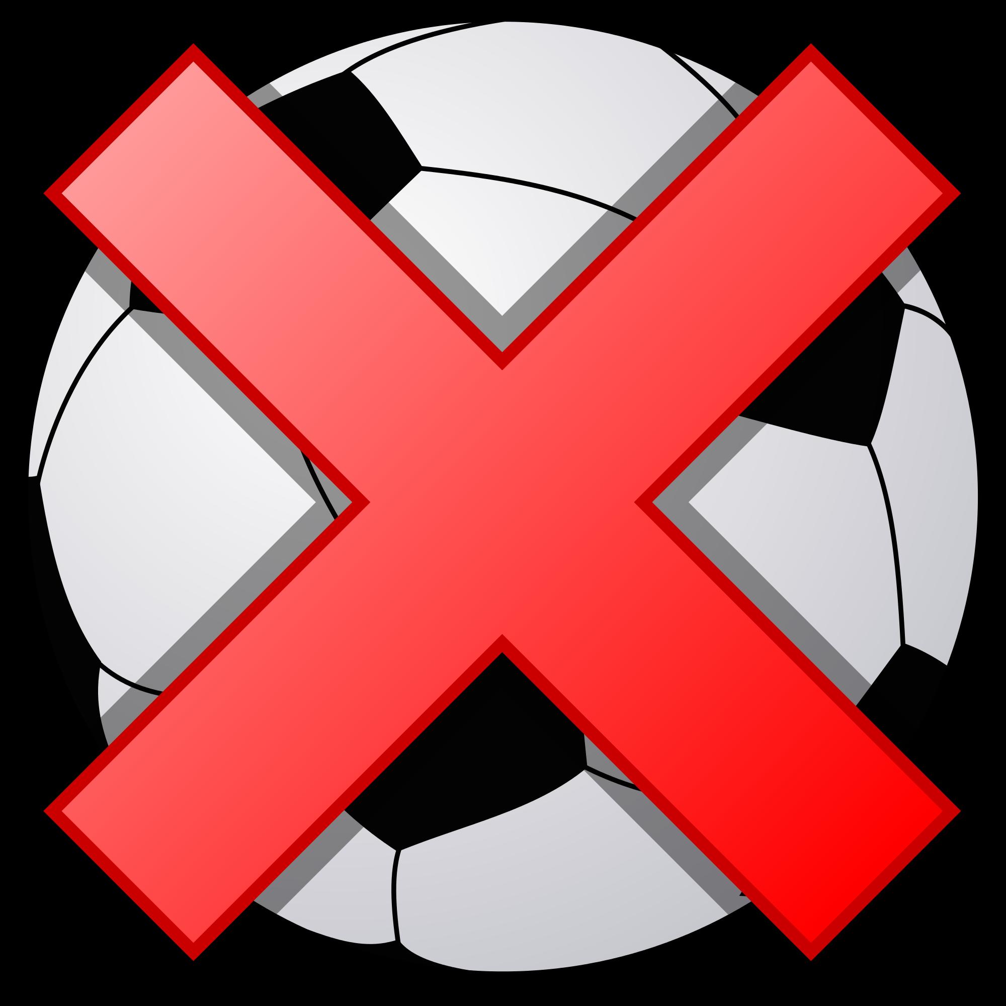 Clipart cross football. File soccerball shade svg