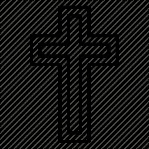 Cartoon transparent clip art. Funeral clipart cross