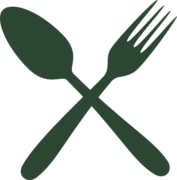 Green cutlery clip art. Napkin clipart cloth napkin