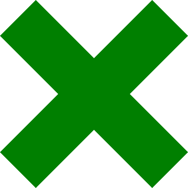 green clipart dark green