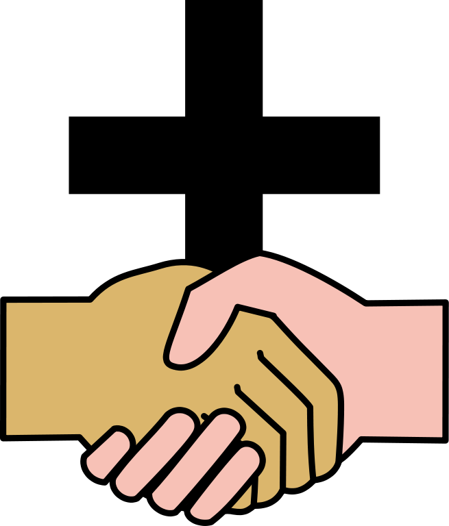 Christian . Kids clipart handshake