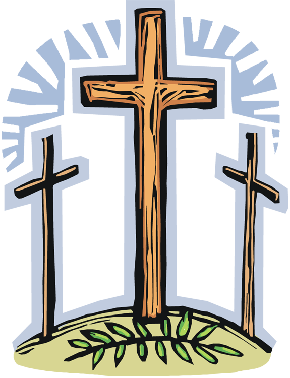 Clipart cross holy week. Good friday free panda