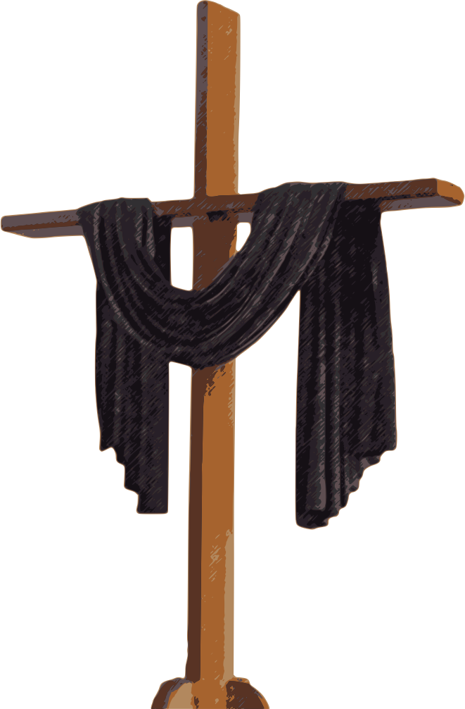 Central baptist church palmyra. Clipart cross holy week