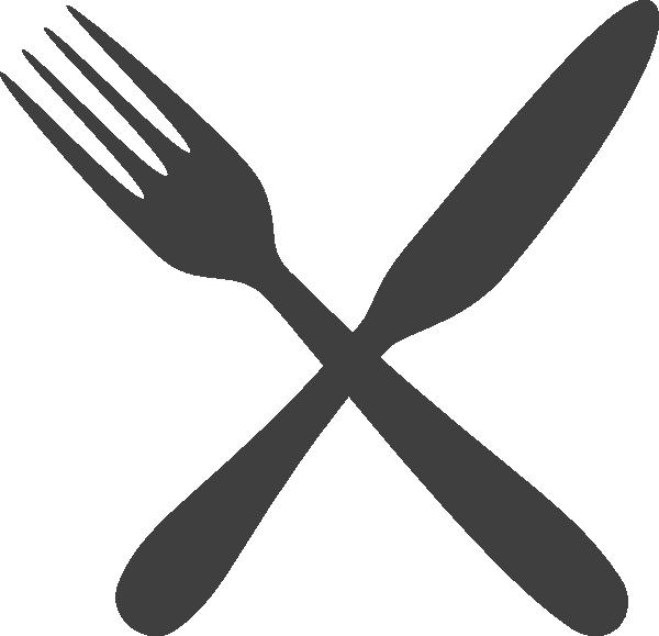 knife clipart crossed fork