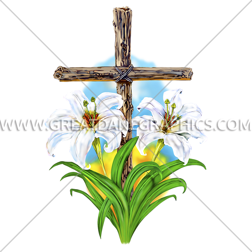 Lenten lilies production ready. Lent clipart forgiveness cross