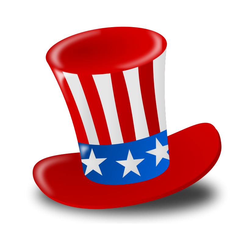 Hats clipart revolutionary war. Free th of july