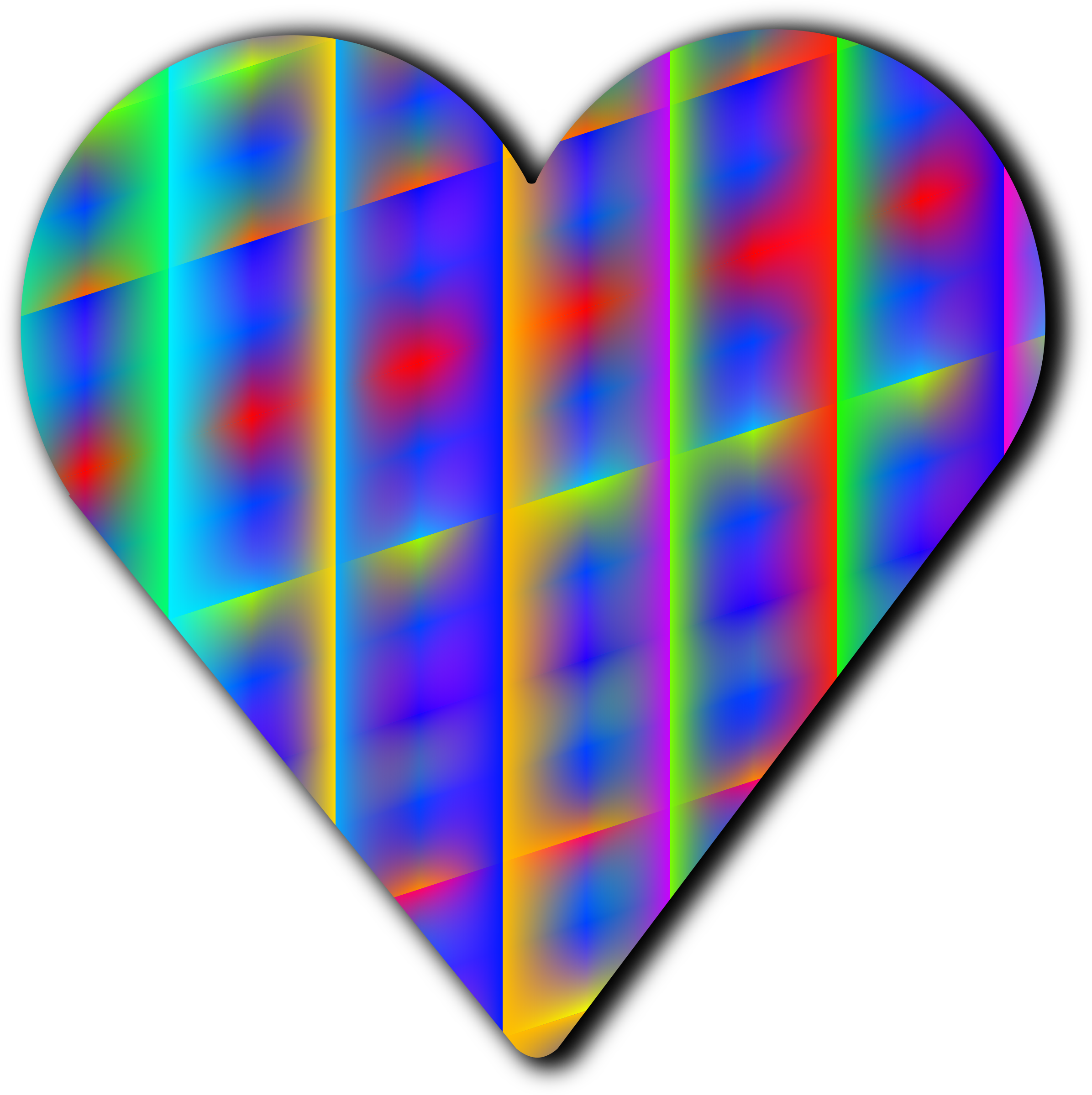 Clipart cross patterned. Heart big image png