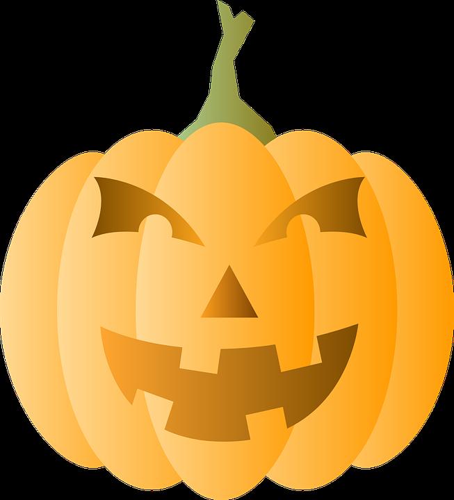 Collection of halloween pumpkins. Clipart cross pumpkin