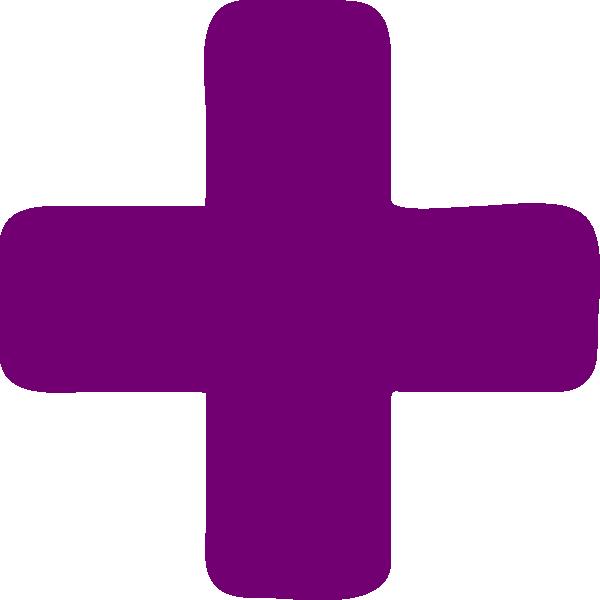 Cross clipart purple. Dark plus clip art