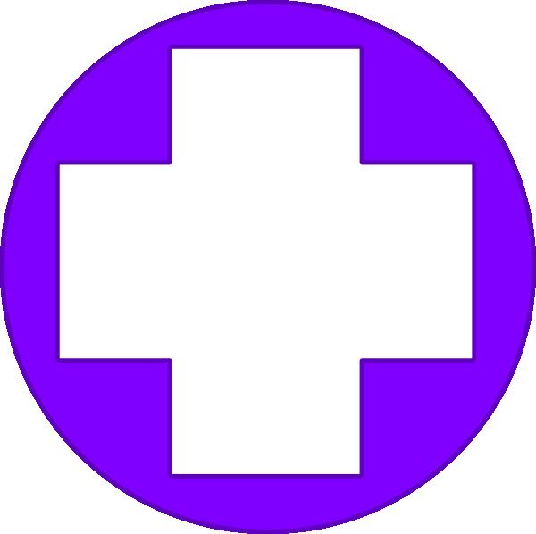 Cross clipart purple. Clip art at clker