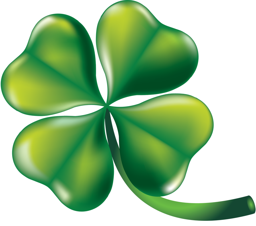 Clover clipart three. Leaf at getdrawings com