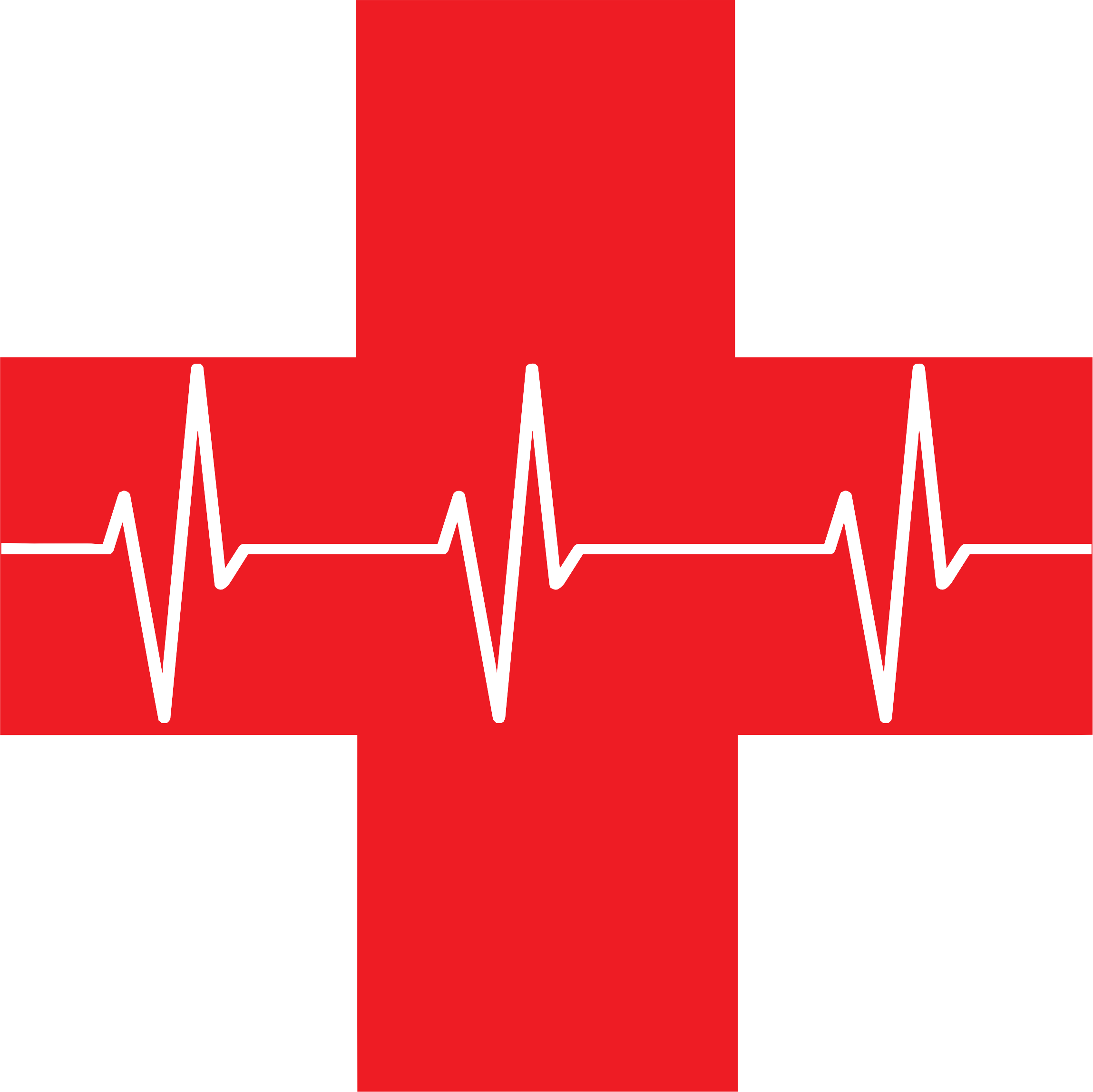 Health clipart first aid cross. Red icon big image