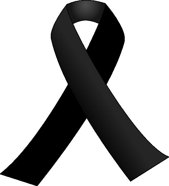 Clipart cross ribbon. Black clip art at