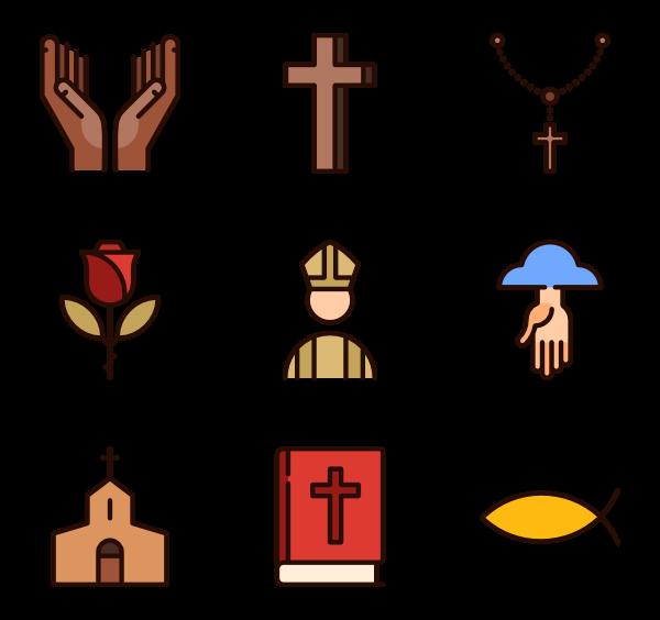 Clipart cross roman catholic.  icon packs vector