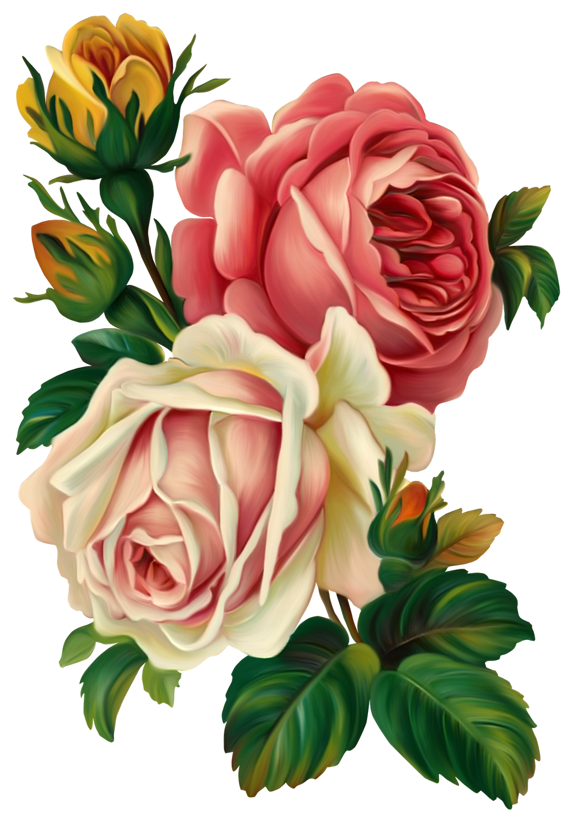 Vc throughmyeyes el png. Clipart roses rose gold
