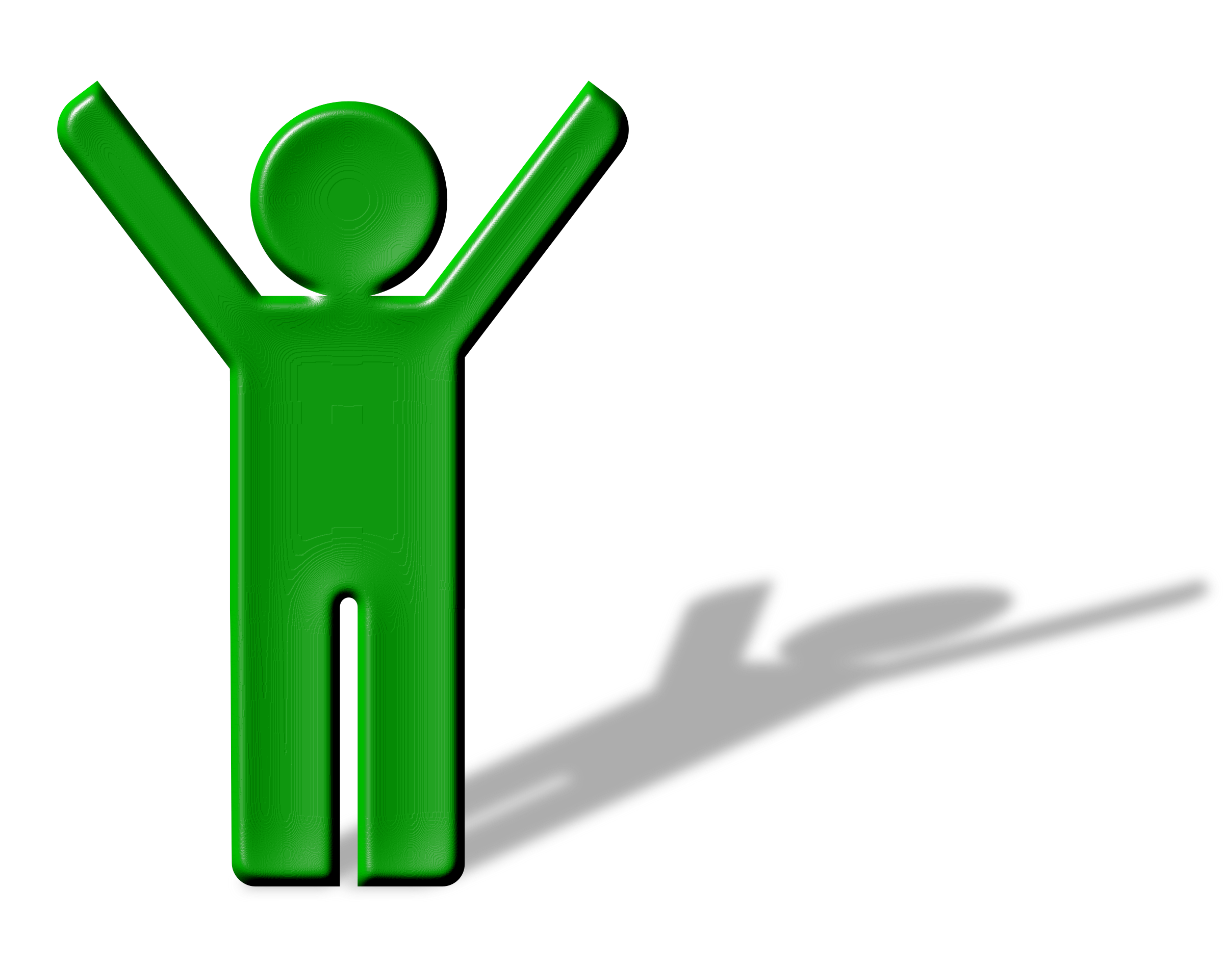 Environment clipart man. Shadow hands up icons