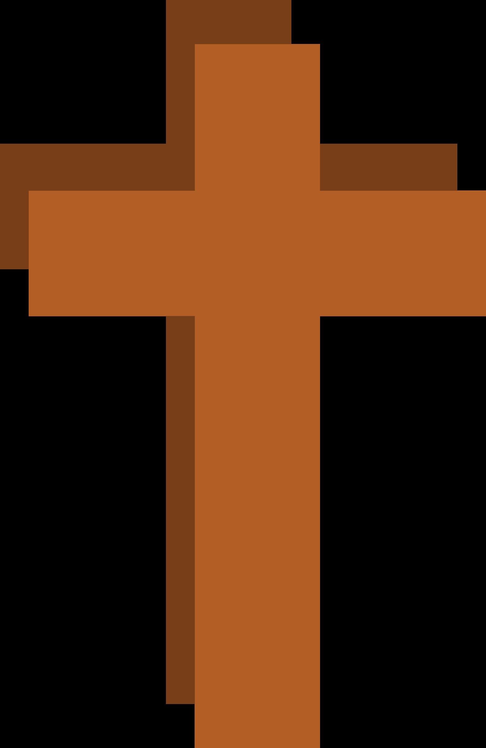 Crucifix clipart christianity. Stylized christian cross big