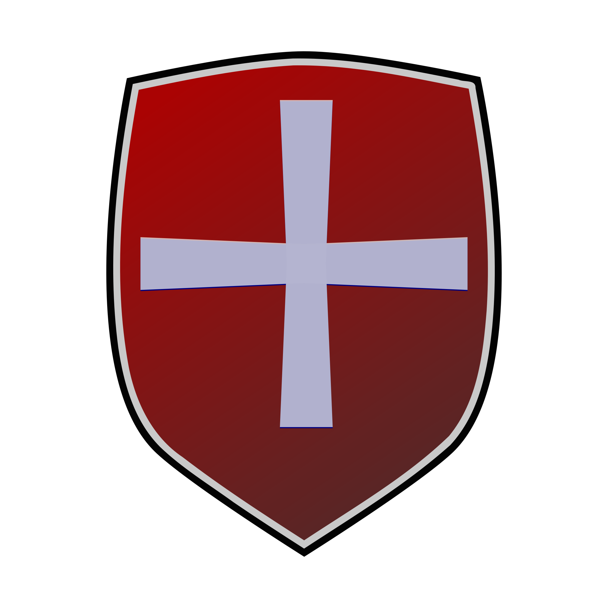 Red big image png. Clipart shield cross