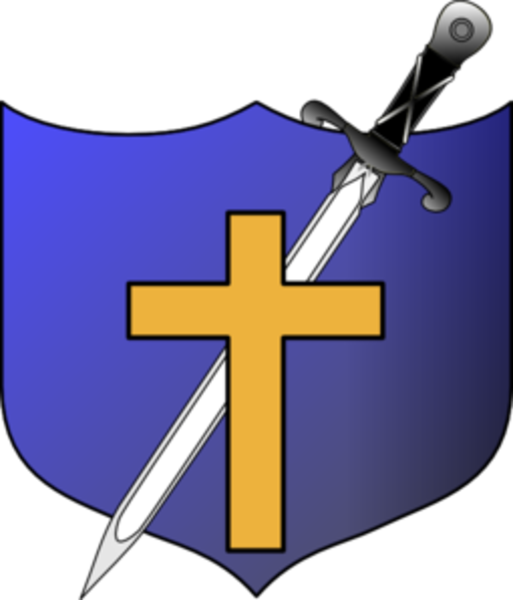 Clipart shield cross. Sword and no letters