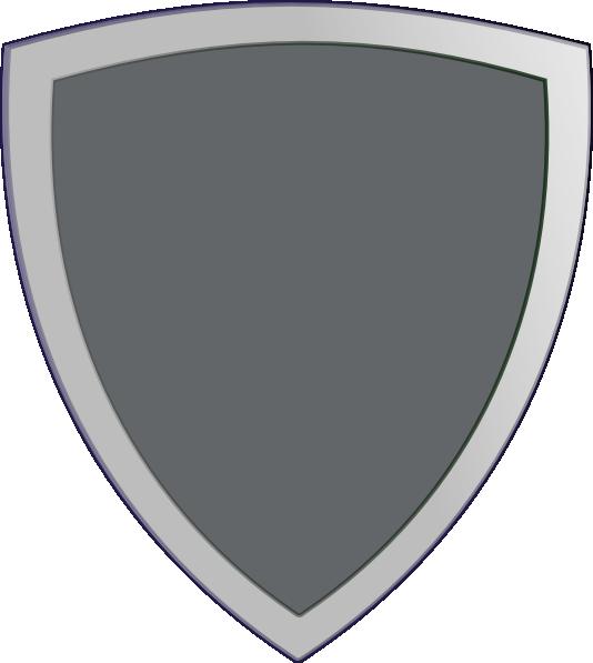 Blank clip art at. Clipart shield colour